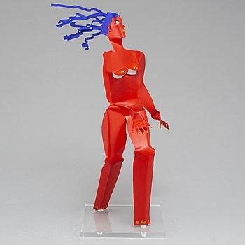 TIMO SOLIN, skulptur, signerad.