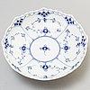 A set of four 'musselmalet' porcelain bowls '1023' by royal copenhagen.