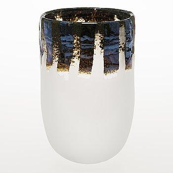TIINA NORDSTRÖM, a 'Castle' art glass, signed Tiina Nordström Iittala 1993/1995.