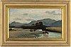 Engelsk skola, 1800-tal, olja på duk.