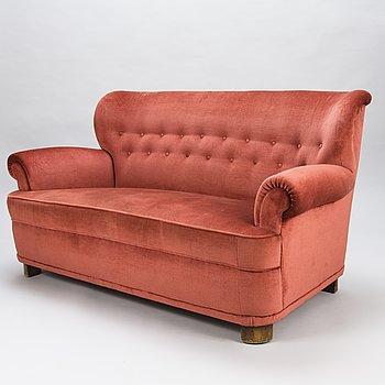 """CARL-JOHAN BOMAN, sohva, """"London"""", Oy Boman Ab, 1940-luku."""