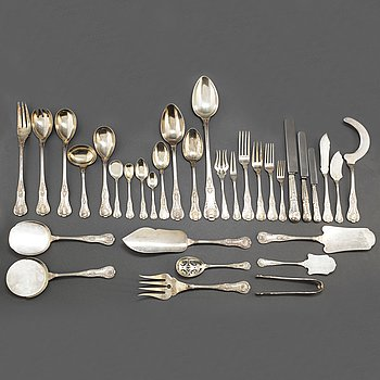 211 psc silver cutlery, Spain, 20th century.