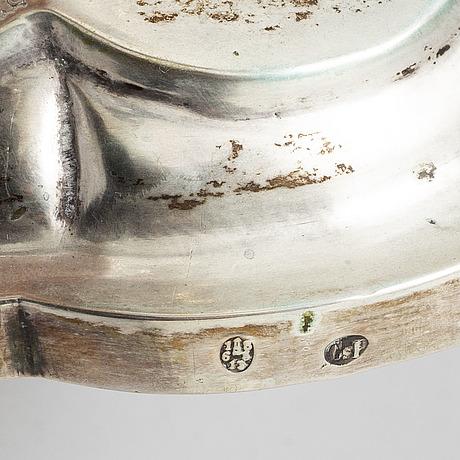 A pair silver candlesticks. austria hungary 1863