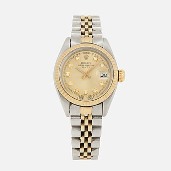 ROLEX, Oyster Perpetual, Date, Chronometer, armbandsur, 26 mm.