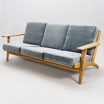 HANS J WEGNER, A mid-20th century sofa for model GE-290 for Gedsted, Denmark.