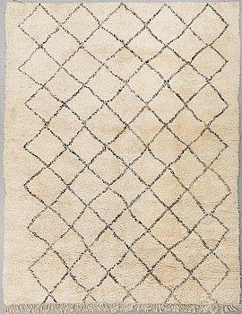 A CARPET, Morocco, around 350 x 284 cm.