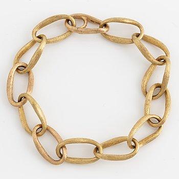 OLE LYNGGAARD, Armband, 18K guld, design Charlotte Lynggaard 'Love ring'.