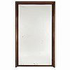 A first half of the 20th century large mahogany mirror.