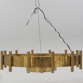 A mid 20th Century German brass chandelier.