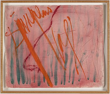 EDDIE FIGGE, watercolour, signed and dated 1972.