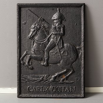 A 19th century cast iron relief.