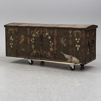 A Baroque circa 1700 chest.