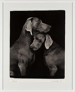 WILLIAM WEGMAN, fotografi, signerat och daterat -09.