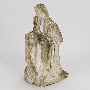 KOSTI AHONEN, sculpture, stonemass, not signed.