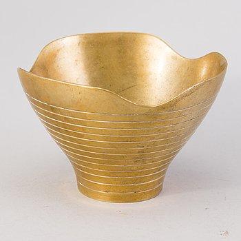 PAAVO TYNELL, skål, brons, Taito.