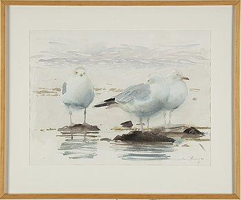 LARS JONSSON, akvarell, signerad och daterad - 94.
