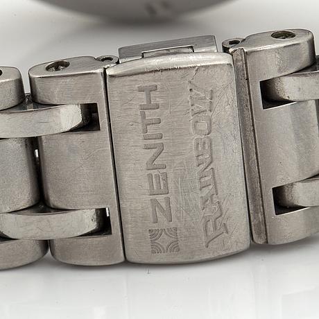 Zenith, el primero, rainbow, kronograf, armbandsur, 40 mm.