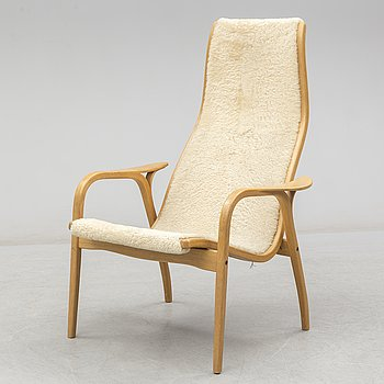 YNGVE EKSTRÖM, a 'Lamino'  easy chair, Swedese.