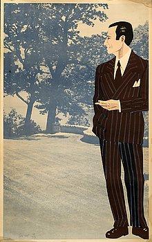 ALEX KATZ, färglitografi och offset-litografi, signerad och numrerad 19/50.