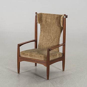 A probably Danish easy chair later part of the 20th century.