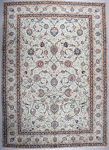 A keshan rug, 415 x 297 cm