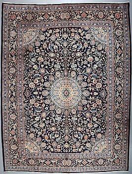 A KASHMAR RUG, 395 x 301 cm.