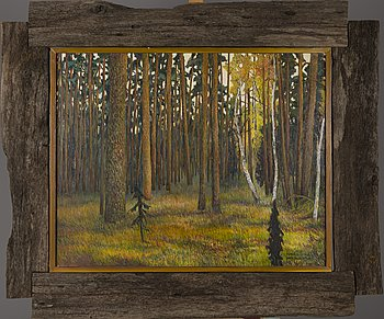 KOSTI KOSTINEN, oil on canvas, signed and dated -89.