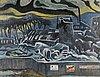 Kosti ahonen, olja på masonit, signerad och daterad 1980