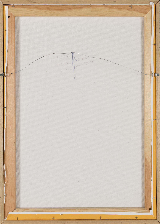 MIKKO IJÄS, iPad drawing, archival ink-jet print on canvas