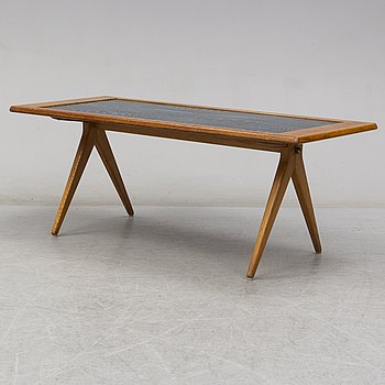A Stig Lindberg and David Rosén sofa table from Triva-Dura for NK around 1953.