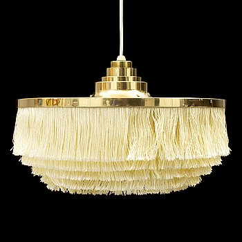 A second half of the 20th Century brass ceiling lamp by Hans Agne Jakobsson.