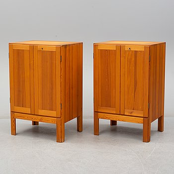 BØRGE MOGENSEN, a pair of Oregon pine cabinets, Karl Andersson & Söner, mid 20th century.