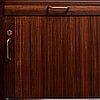 "Hans j wegner, skrivbord, modell ""a1515"", plan møbler, danmark 1940-50-tal."