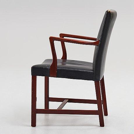 """Hans j wegner, a model """"a422"""" chair for plan møbler, denmark, 1940's."""
