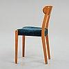 "Hans j wegner, a ""2c series"" chair, plan møbler, denmark 1940-50's."