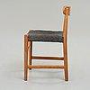 """Hans j wegner, a children's chair, """"b202"""", plan møbler, denmark, 1940-50's."""