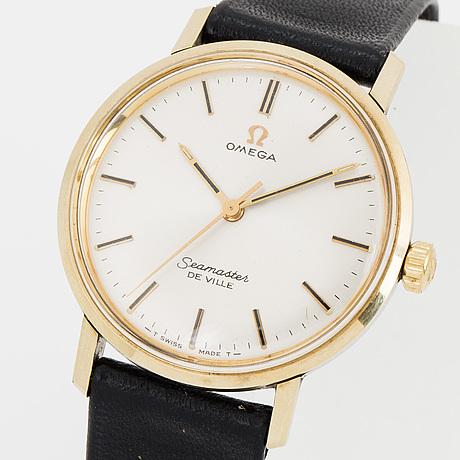 Omega, seamaster de ville, armbandsur, 34 mm