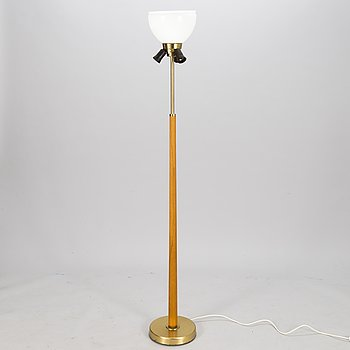 HANS BERGSTRÖM, a mid-20th century floor lamp for Ateljé Lyktan.