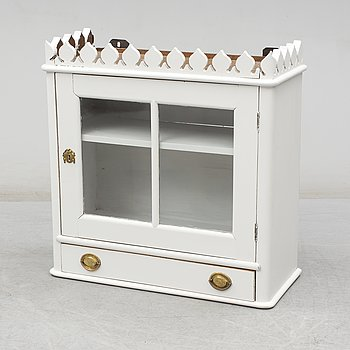 An end of the 19th Century vitrine cabinet.