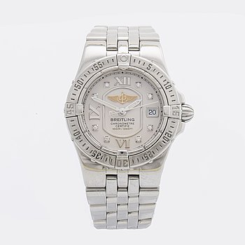 BREITLING, Starliner A71340 ladies wristwatch, 100m/330 ft.