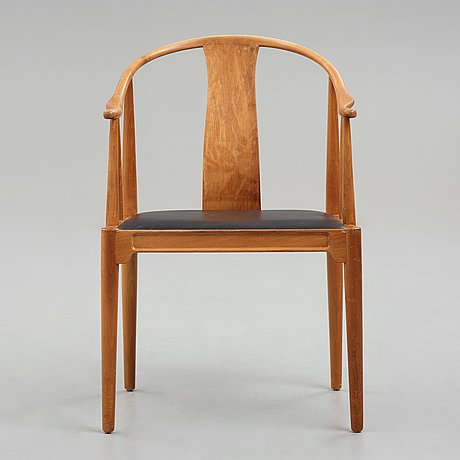 "Hans j wegner, the ""china chair"", fritz hansen, denmark, a prototype of model ""4283"", executed in 1943-44."