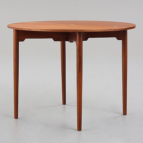 "Hans j wegner, a model ""2081"" table for fritz hansen, denmark 1969."