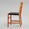"""Hans j wegner, stol, """"gitter"""", johannes hansen, danmark 1940-tal."""