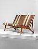 """Hans j wegner, a model """"jh 555"""" sofa for johannes hansen, denmark, 1950's."""