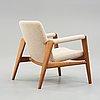 "Hans j wegner, fåtölj ""the buck chair"", ""jh523"" johannes hansen, danmark, 1950-tal."