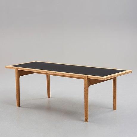 """Hans j wegner, a model """"jh 575"""" coffee table, for johannes hansen, denmark, 1950 60's"""