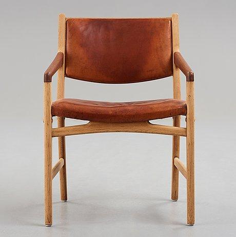 """Hans j wegner, """"magasin du nord"""", karmstol för johannes hansen, danmark 1950-tal."""