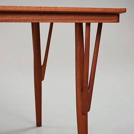 "Hans j wegner, a model ""jh561"" table for johannes hansen, denmark 1950's."