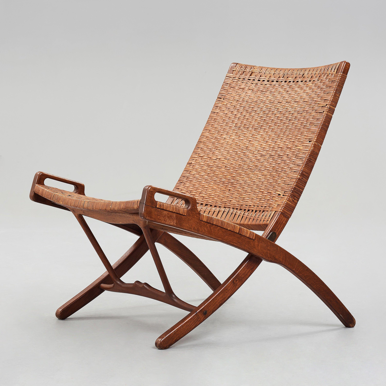 Hans J Wegner A Jh512 Folding Chair For Johannes Hansen