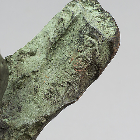 Torbjörn forsberg, sculpture, bronze, signed and numbered.